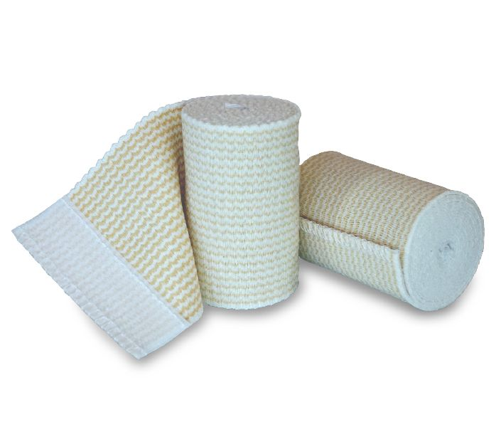 Elastic Bandages Velcro Type Closure Latex Free 4 X 10yd Cnf